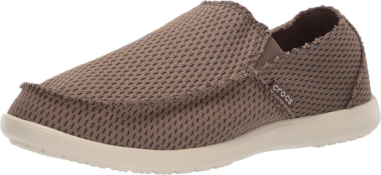 Crocs Mens Santa Cruz Mesh Slip-on Loafer
