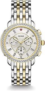 Womens Sidney Diamond Bezel Two-Tone Stainless Steel Watch