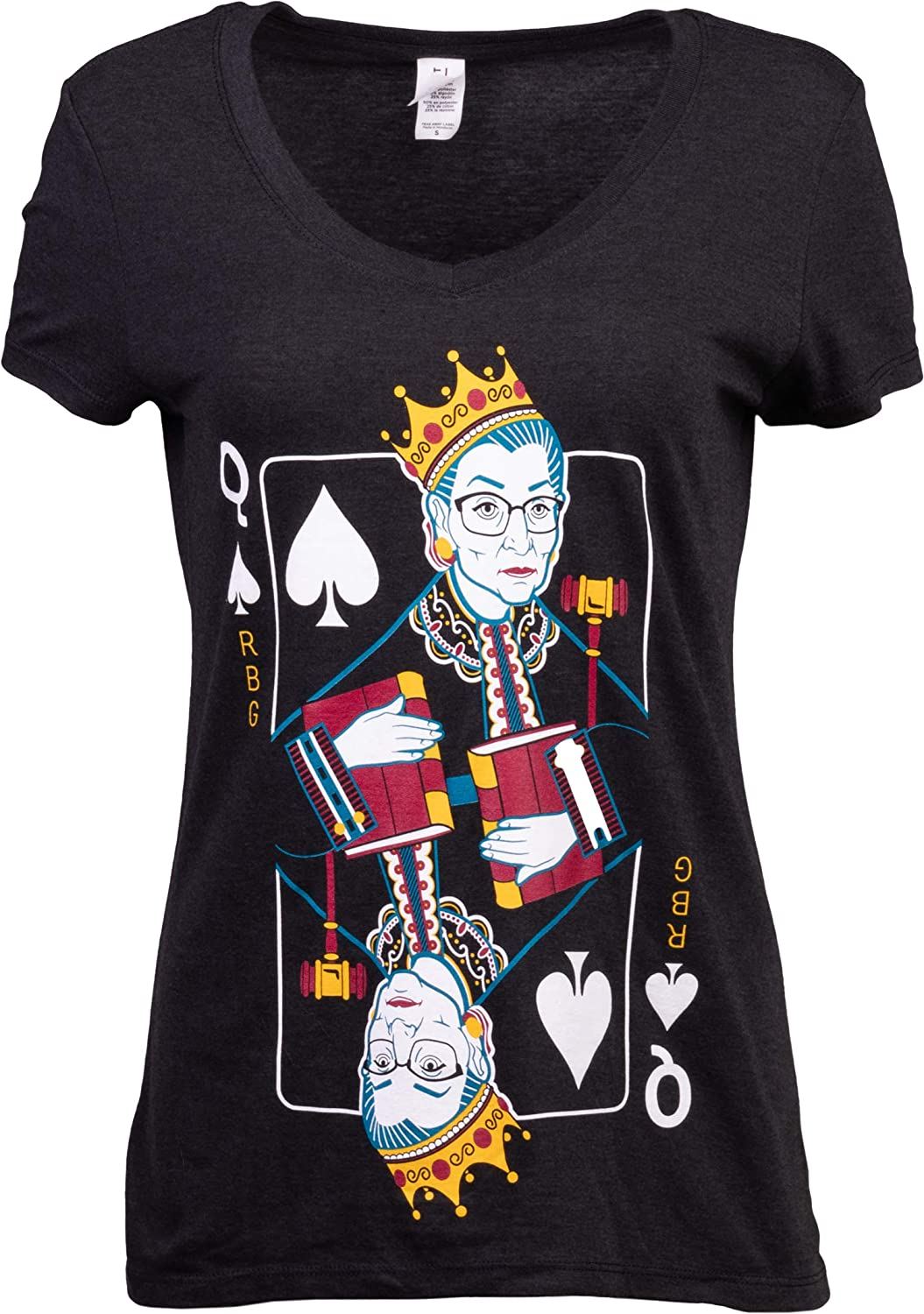 Queen R.B.G. Funny Progressive Liberal Ruth Bombing Limited time cheap sale free shipping Bader Women Ginsburg