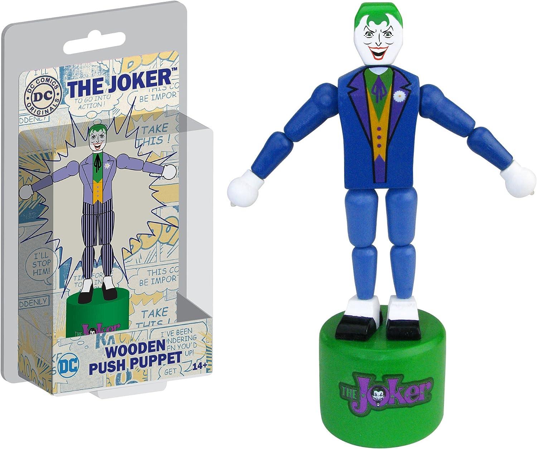 Entertainment Earth The Joker Wood Push Puppet