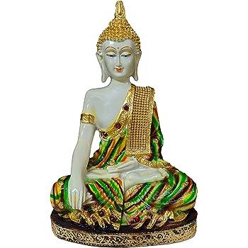 Sacred Blessings®Sitting Buddha Idol Statue Showpiece