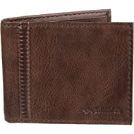Men's RFID Security Blocking Extra-Capacity Slimfold Wallet, Tan, One Size