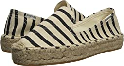 Soludos - Classic Stripe Smoking Slipper
