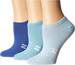 Color Mood Supersoft No Show 3-Pair Pack