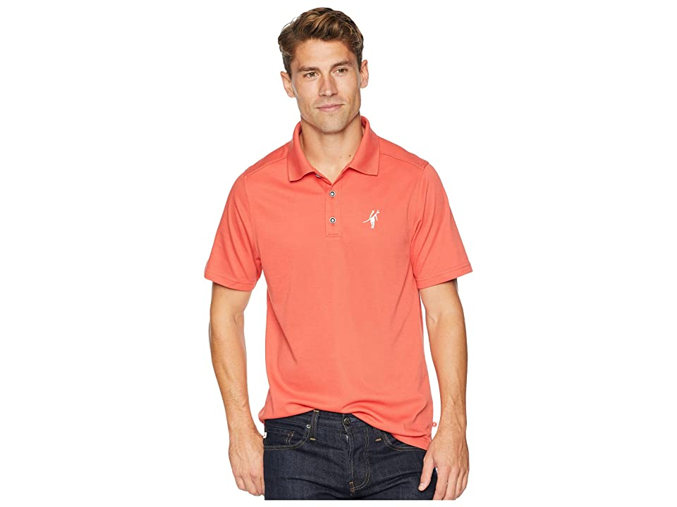 Toes on the Nose 2 Foot Putt Short Sleeve Polo (Nantucket) Men