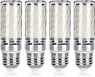 comprar comparacion Wedna E27 LED maíz bombilla, 15W Blanco Frío, 120W Incandescente Bombillas Equivalentes, 1500Lm, Edison tornillo bombillas...