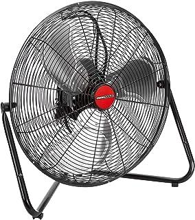 OEM TOOLS 20 Inch High-Velocity Indoor Floor, New Model Commercial Fan, 4500 CFM, Black