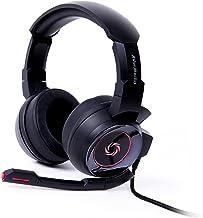 سماعات رأس ألعاب سونيك ويف 3.5 ملم لأجهزة الكمبيوتر الشخصي وإكس بوكس وان وبلاي ستيشن 4 وبلاي ستيشن سويتش (GH335) من أفيرميديا USB Virtual 7.1 GH337