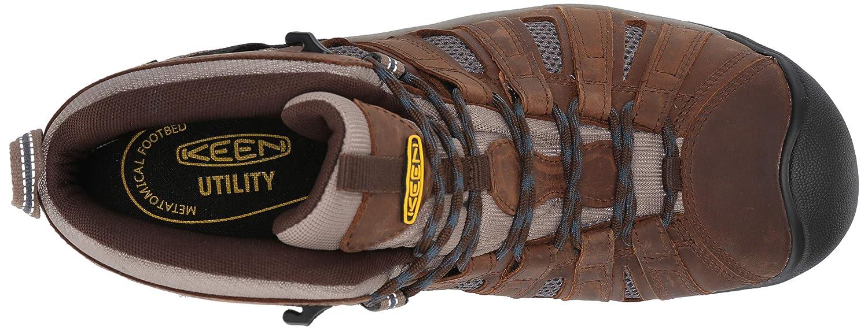 KEEN Utility Mens Cody Mid Steel Toe Waterproof Industrial /& Construction Shoe
