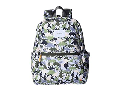 STATE Bags Kids Kane Dinoflage (Olive Multi) Backpack Bags