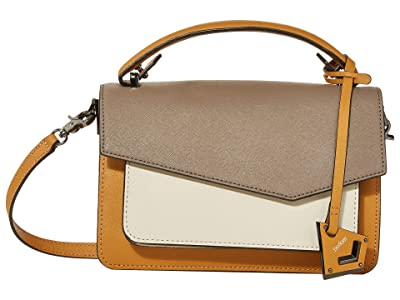 Botkier Cobble Hill Crossbody (Golden Truffle Combo) Cross Body Handbags