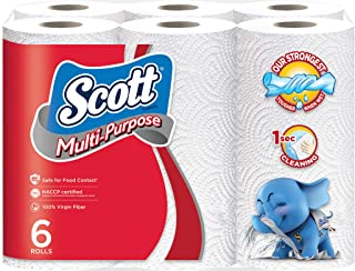 Scott Multiple Purpose Kitchen Towels, 52ct, Pack of 6