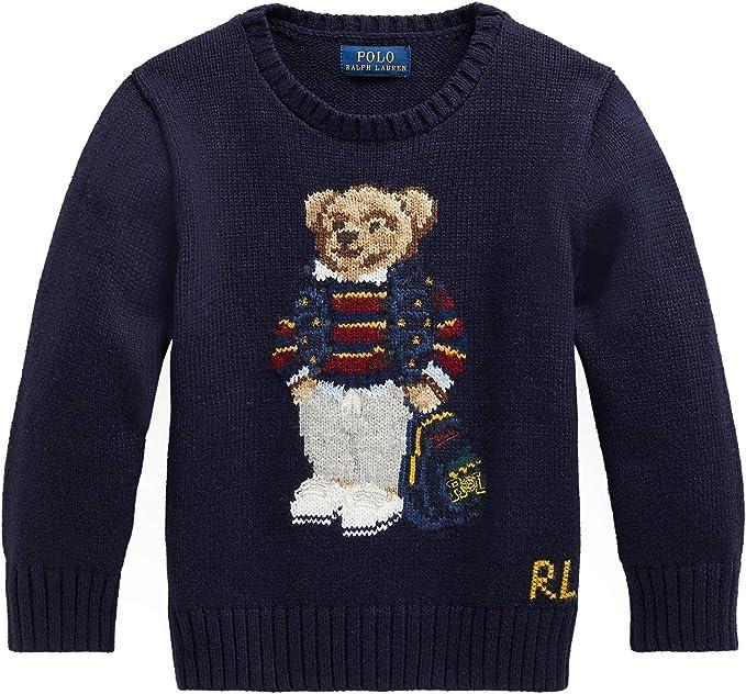 Polo Ralph Lauren - Jersey Azul Oso 323799423001 - Jersey ...