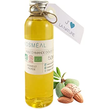 Aceite De Almendras Dulces BIO 50 ml - Hecho En España - 100% Puro Y Natural - Prensado En Frío: Amazon.es: Salud y cuidado personal