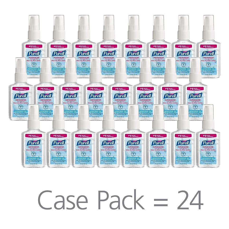 テメリティ関連する神のPURELL 9606-24 Advanced Instant Hand Sanitizer, 2 fl. oz. Pump Bottle (Case of 24),2 fl. Oz by Purell