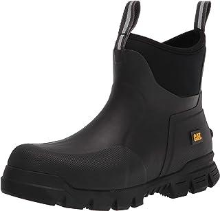 حذاء طويل الرقبة من Caterpillar Stormers مقاس 15.24 سم أسود مقاس 12