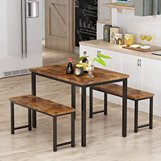 AWQM Dining Room Table Set, Kitchen Table Set with 2...