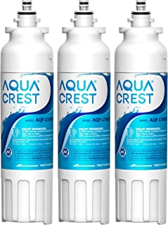 AQUACREST ADQ73613401 Refrigerator Water Filter, Replacement for LG LT800P, ADQ73613402, ADQ73613408, ADQ75795104, 46-9490, LSXS26326S, LMXC23746S, LMXC23746D (Pack of 3)