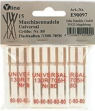 E90050 70-100 gambo piatta 130R//705 ore per macchina da cucire 25 cucire aghi per macchine Jersey N aghi per macchine