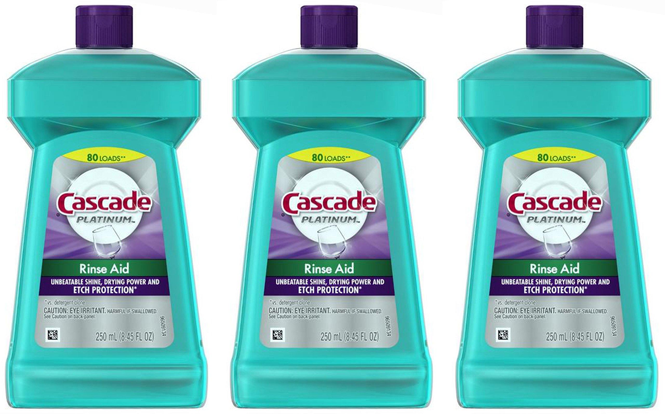 Cascade Rinse Platinum Dishwasher Regular
