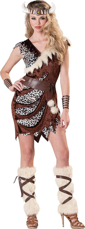 Halloweenia Damen Karnevals Komplettkostüm Wikinger Lady, S, Braun B07D34JQKL Moderate Kosten  | Perfekte Verarbeitung