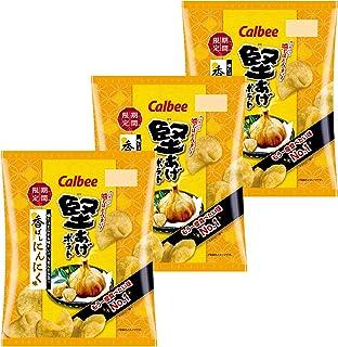 カルビー 堅あげポテト 香ばしにんにく味 60g ×3袋