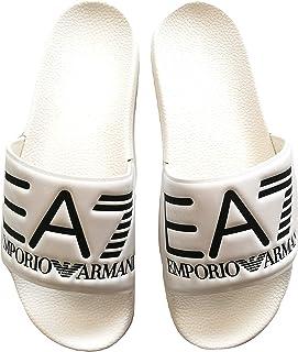productos creativos Emporio Armani - Sandalias Sandalias Sandalias de Vestir de Caucho para Hombre blancoo Bianco  sin mínimo