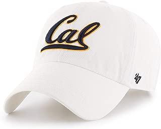 '47 Brand California Golden Bears UC Berkeley Clean Up Hat Cap White
