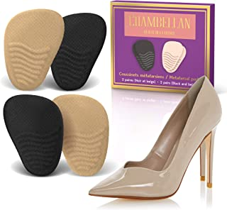 d35da7c4d17 Heel Cushion Inserts (2 Pairs  4 Pieces) - Shoe Inserts Women - High Heel  Inserts for Women - Metatarsal Pads for Women - Ball of Foot Cushions for  Pain ...