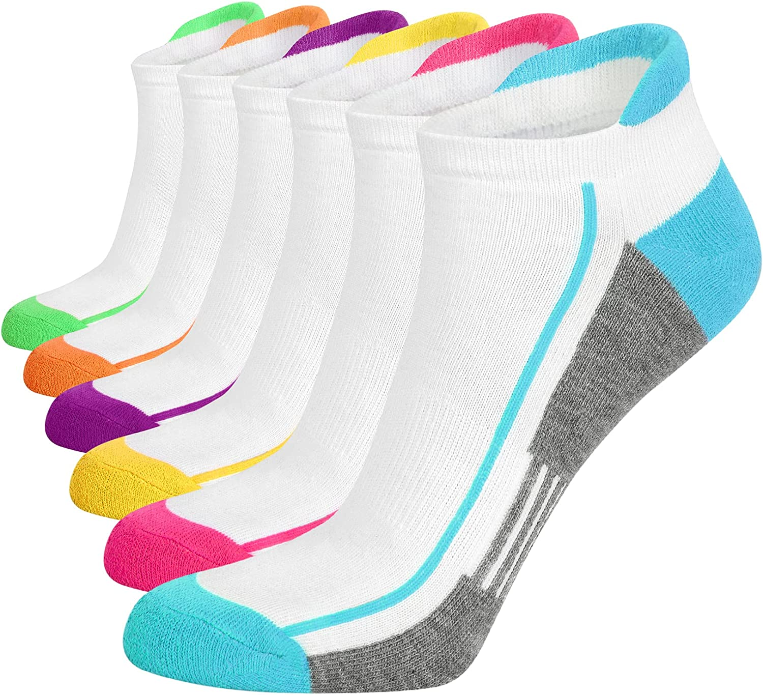 Womens Ankle Socks Athletic Topics on TV Popular brand Low for Cut Wo Cycling Running