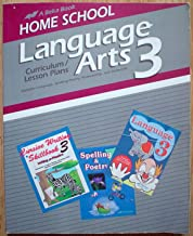 Language Arts 3 (Home School Curriculum, Curriculum/ Lesson Plans)
