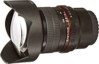 Samyang SY14M-MFT 14mm F2.8 Ultra Wide Micro Four-Thirds Mount Fixed Lens for Olympus/Panasonic Micro 4/3 Cameras