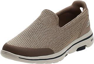 SKECHERS GO WALK 5 Mens Shoes, Grey (Charcoal), 8 UK (42.5 EU)