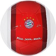 Pelota de fútbol del Bayern de Múnich, Mia san mia, rojo/blanco, tamaño 5