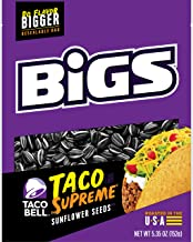 BIGS Taco Bell Taco Supreme Sunflower Seeds, Keto Friendly Snack, 5.35 Ounce (Pack of 12)
