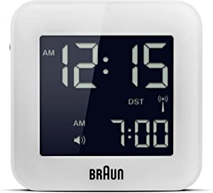 Braun BNC008WH-RC GLOBAL RC DIGI SQUARE ALARM WH 25/50