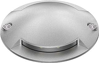 Parlat LED lámpara instalable al Suelo Bunda 2-Beam para el Exterior, transitable con Coche, Blanca fría