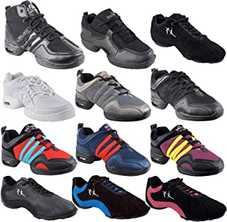 Unisex Jazz Shoes Dance Sneakers for Hip Hop Zumba Swing Salsa Latin