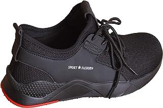 Xiangzhen WorkSafetyShoesforMen,WearResistantLightweightAnti-PiercingSneakersComfortableSteelToeShoesFootwearforIndustrial,Construction