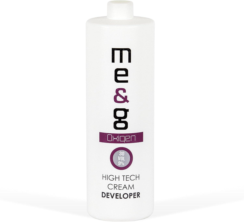 Pop Italy - Tinte para el cabello oxigenado Me&G, perfumado, 1 litro 30 Volumi