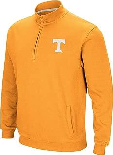 Colosseum NCAA Men's Tailgater Cotton-Poly Fleece 1/4 Zip Pullover