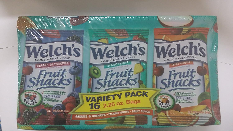 Welchs Fruit Snack Variety