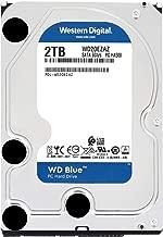 【国内正規代理店品】Western Digital WD Blue 内蔵HDD 3.5インチ スタンダードモデル 2TB SATA 3.0(SATA 6Gb/s) 2年保証 WD20EZAZ-RT