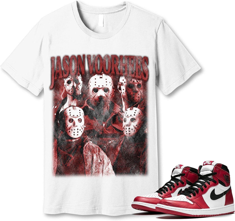 Popularity #Jason #Voorhees T-Shirt to Match Sneaker Snkrs Chicago Ranking TOP7 Jordan 1