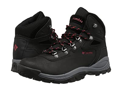 Columbia Newton Ridge Plus (Black/Poppy Red) Women