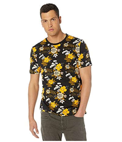 PUMA Trend AOP Tee (Moss Green/Floral) Men