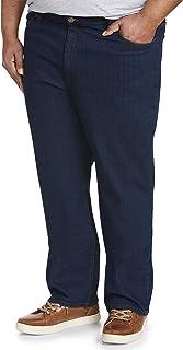 Amazon Essentials jeans elásticos de ajuste relajado. Jeans para Hombre