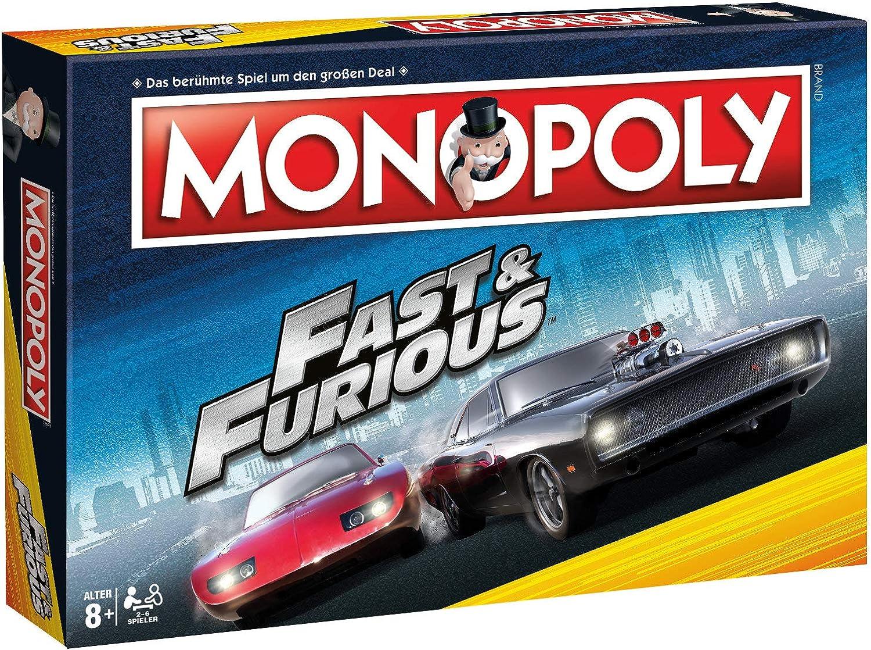 Winning Moves Monopoly  Fast & Furious B07JJGZVN5 Sonderaktionen zum Jahresende  | Starker Wert