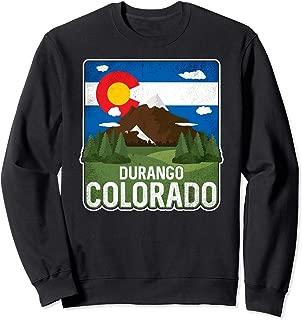 Vintage Durango Colorado Rocky Mountains Sweatshirt