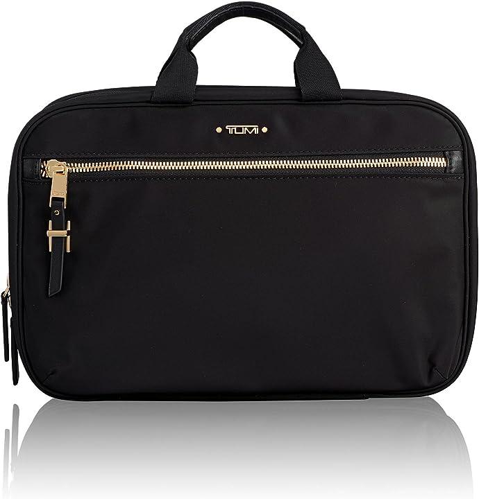 Cosmetic beauty case 29 cm nero (black) tumi voyageur madina 109995